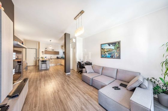 Spacious and furnished three-room apartment