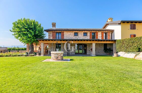 Detached villa surrounded by vineyards