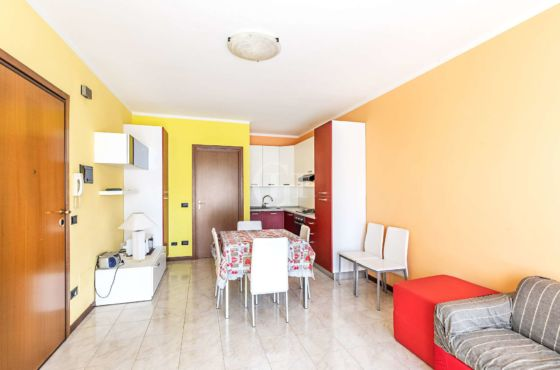 Three-room apartment with pool in Lazise